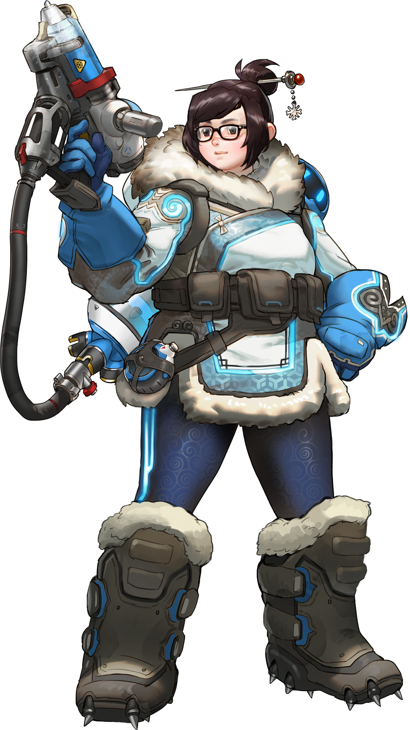 Mei Overwatch Wiki Mei was assigned to a monitoring station in the antarctic when a polar storm cut it off from the outside world, ultimately forcing all of the scientists. mei overwatch wiki