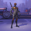 Genji Skin Overwatch League Gray.png