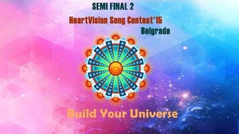 HeartVision Song Contest 15 - Belgrade - Semi FINAL 2