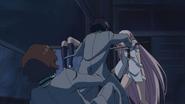 Yūichirō salvando a Yoichi de Noin