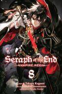 Owari no Seraph Volume 8 (English Cover)