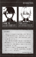 Michaela book 1 - Story, Mika and Yu's profiles