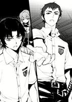 Catastrophe Book 3 - Kureto, Guren, and Shinoa after Mahiru's broadcast