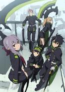 Shinoa squad anime, key visual rough idea (1)