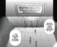 Shibuya Restricted Zone