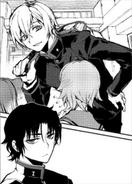 Shinya i Guren pierwsze spotkanie