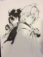 Yu & Mika Twitter Art, August 2016