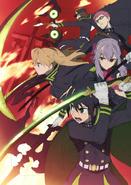 Shinoa squad anime, key visual rough idea (2)
