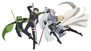 Seraph of the End New Key Visual