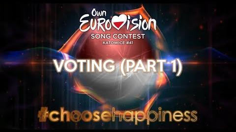 Own Eurovision Song Contest 41, Voting (Part 1 3)