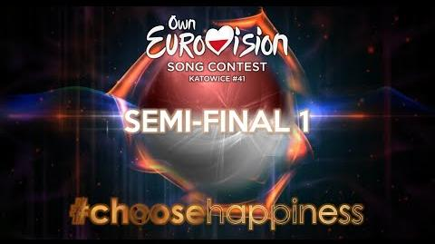 Own Eurovision Song Contest 41, Semi-Final 1
