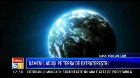 Oamenii, adusi pe Terra de extraterestri