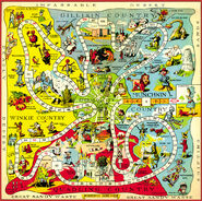 Map 1921 oz gameboard