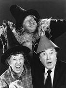 The wizard of oz ray bolger jack haley margaret hamilton reunited 1970 no 2