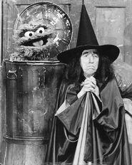 Sesame Street Margaret Hamilton Oscar The Grouch 1976