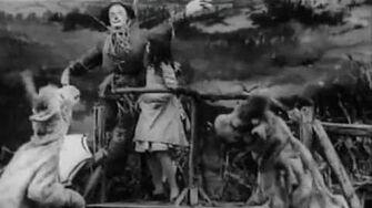 """The_Wonderful_Wizard_of_Oz""_(1910)_Earliest_surviving_Oz_film."