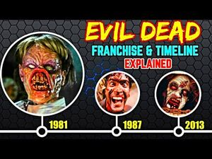 Evil Dead Franchise And Timeline Expained + How To Kill A Deadite? Evil Dead Future Explored!