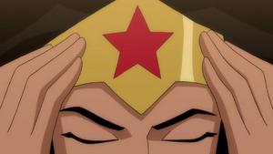 Wonder Woman 2009 Closed Eyes