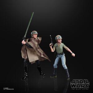 Luke and Leia (Endor) - Black Series