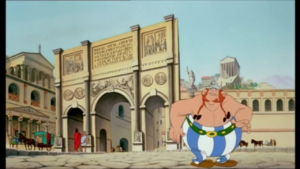 Obelix in Rome (Asterix Versus Caesar)