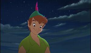 Peter Pan Smiling