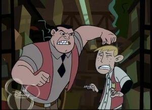 Ron and Mr. Barkin (Fashion Victim)