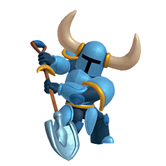 Shovel Knight Assist Trophy (SSBU)