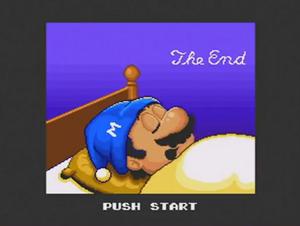 Super Mario All-Stars Super Mario Bros. 2 Ending
