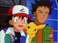 Ash and Brock tell the bad news