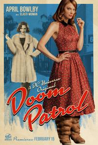 Doom Patrol - Elasti-Woman poster