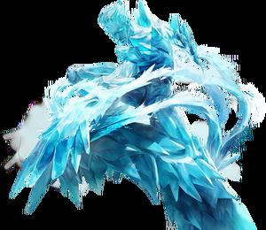 Iceman Marvel Super War