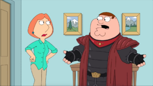 Peter, You're GROUNDED!!