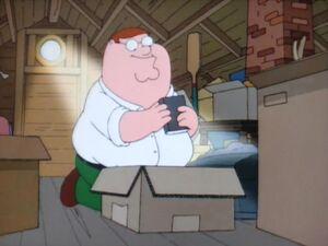 Peter Griffin got his little black book