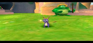 Spyro in Dragon Shores