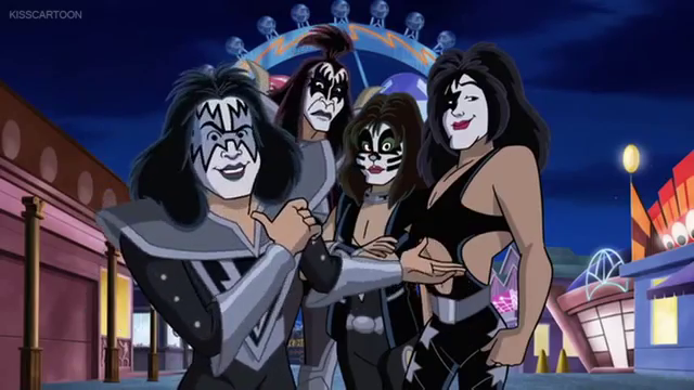 KISS (Scooby-Doo! and Kiss: Rock and Roll Mystery)