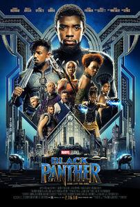 Black Panther (2018) title
