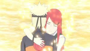 Kushina Hugging Naruto