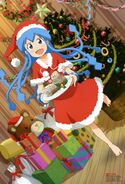 Yande.re 197620 christmas ikamusume matsumoto mayuko shinryaku! ikamusume