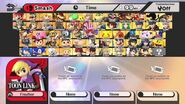 All Characters from Super Smash Bros for Wii U