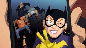 Batgirl Smile