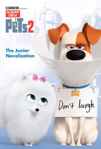 Gidget in The Secret Life of Pets 2 - The Junior Novelization cover