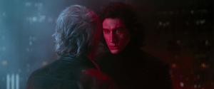 Han Solo and Kylo Ren