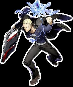Kanji Tatsumi (BlazBlue Cross Tag Battle, Character Select Artwork)