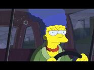 Marge driving