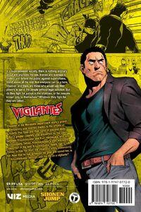 My Hero Academia Vigilantes Manga Volume 5 Back Cover