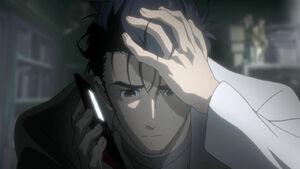 Rintarou Okabe- Depression