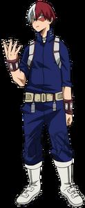 Shoto Todoroki 3rd Hero Costume