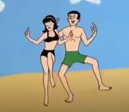 Veronica and Reggie beach