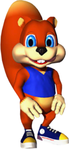 Conker the Squirrel (Conker's Pocket Tales)