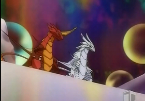 Drago and Wavern on a date